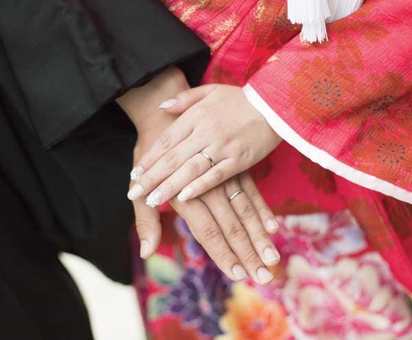 Cerimonia nuziale in Giappone