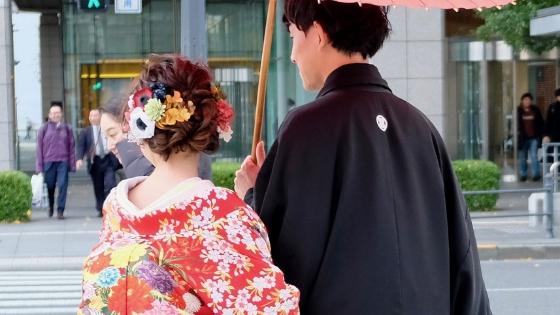 Kimono da sposa