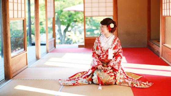 Uchikake: kimono da sposa giapponese