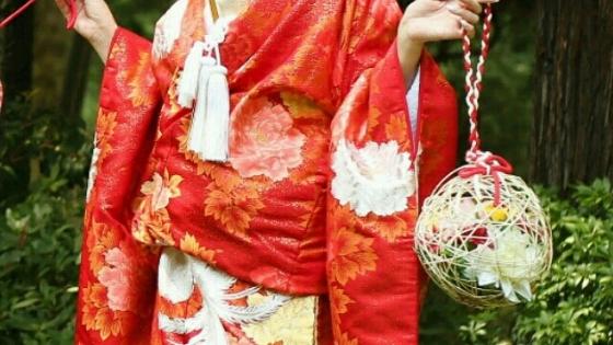 Il bouquet da sposa in Giappone